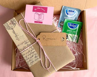 Mystery Book Box | Romance Book | Blind Date With a Book | Book Lover Box | Gift For Her | Gift For Reader | Gift For Friend | Girly Gift