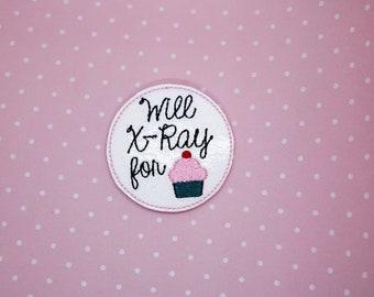 XRAY Set Of Felties Uncut Or Cut Feltie Crafting Scrapbook Embellishment