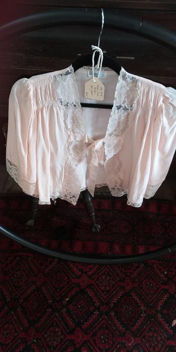 Vtg Artemis bed jacket 30s/40s