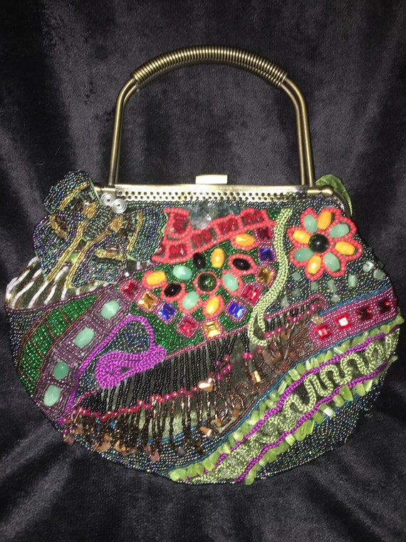 CHICO new evening bag, CHICO beaded purse, New CHI