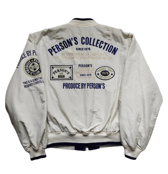 PERSON'S - Reversible Jacket with Embroidered Logo