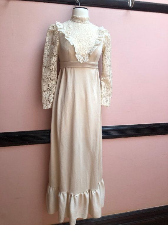 Vintage Gunne Sax Style maxi dress - image 2