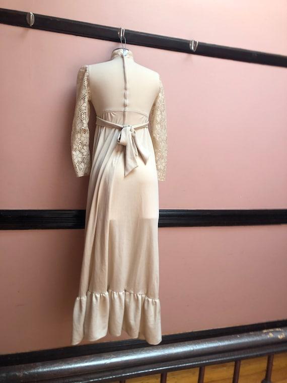 Vintage Gunne Sax Style maxi dress - image 4