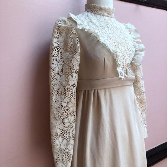 Vintage Gunne Sax Style maxi dress - image 3