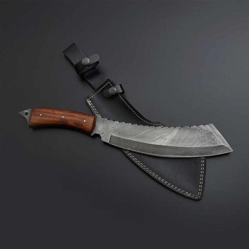 kitchen knife Damscus steel bone breaker knife meat cleaver chef knife engraved knife cook knife chef gifts meat knife meat chopper