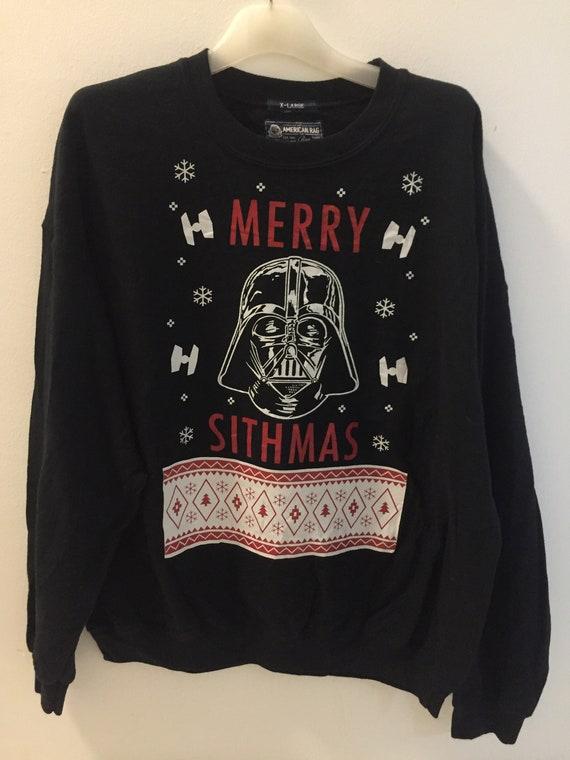 90's Star Wars Christmas Sweatshirt