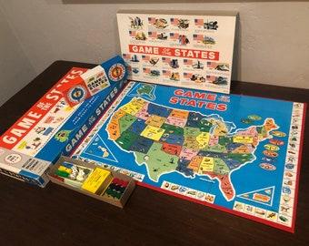 #62 Années 1960 Vintage Souricière Board Game par idéal complet /& Boxed