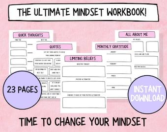 The Complete Mindset Workbook & Planner