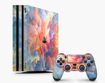ps4 skin space ps4 skin rainbow ps4 skin sky ps4 skin gradient Dualshock 4 PS4 Slim Skin PS4 Pro Skin Playstation Slim PS4 Slim Decal Fat