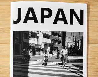 Japan in Black and White - Photo Zine