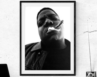 notorious big poster etsy