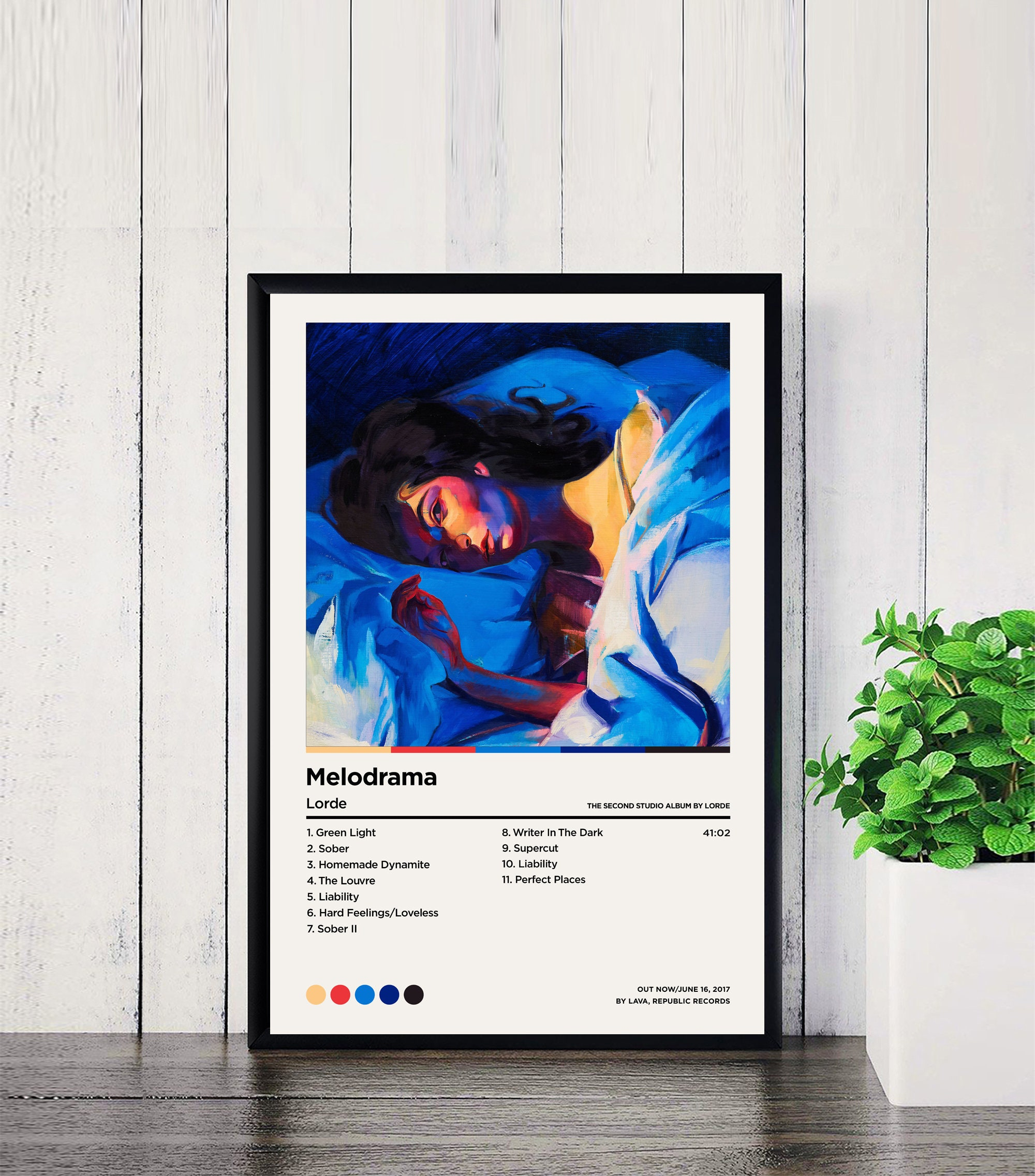 Lorde Posters Melodrama Poster / Lorde Melodrama / Album ...