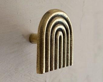 DECORATIVE WALL HOOK, Brass Coat Rack Hook, Coat Wall Hooks For Bathroom, Farmhouse Wall Hooks For Towel Or Coat