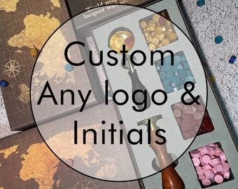 Custom Wax Seal Kit,Wax Seal Set,Wedding Seal Kit,Wax Stamp Set,Wax Seal Stamp,Wax Seal Stamp Kit,Custom Wax Seal