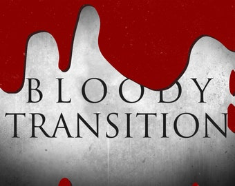 Animated Bloody Stinger Transition Bundle Set (Twitch Overlay) - Two Designs  - Instant Download