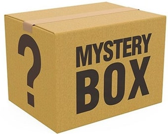 Mystery Box a4 A5 canvases stickers for different aesthetics can be used as decoration for soft indie etc