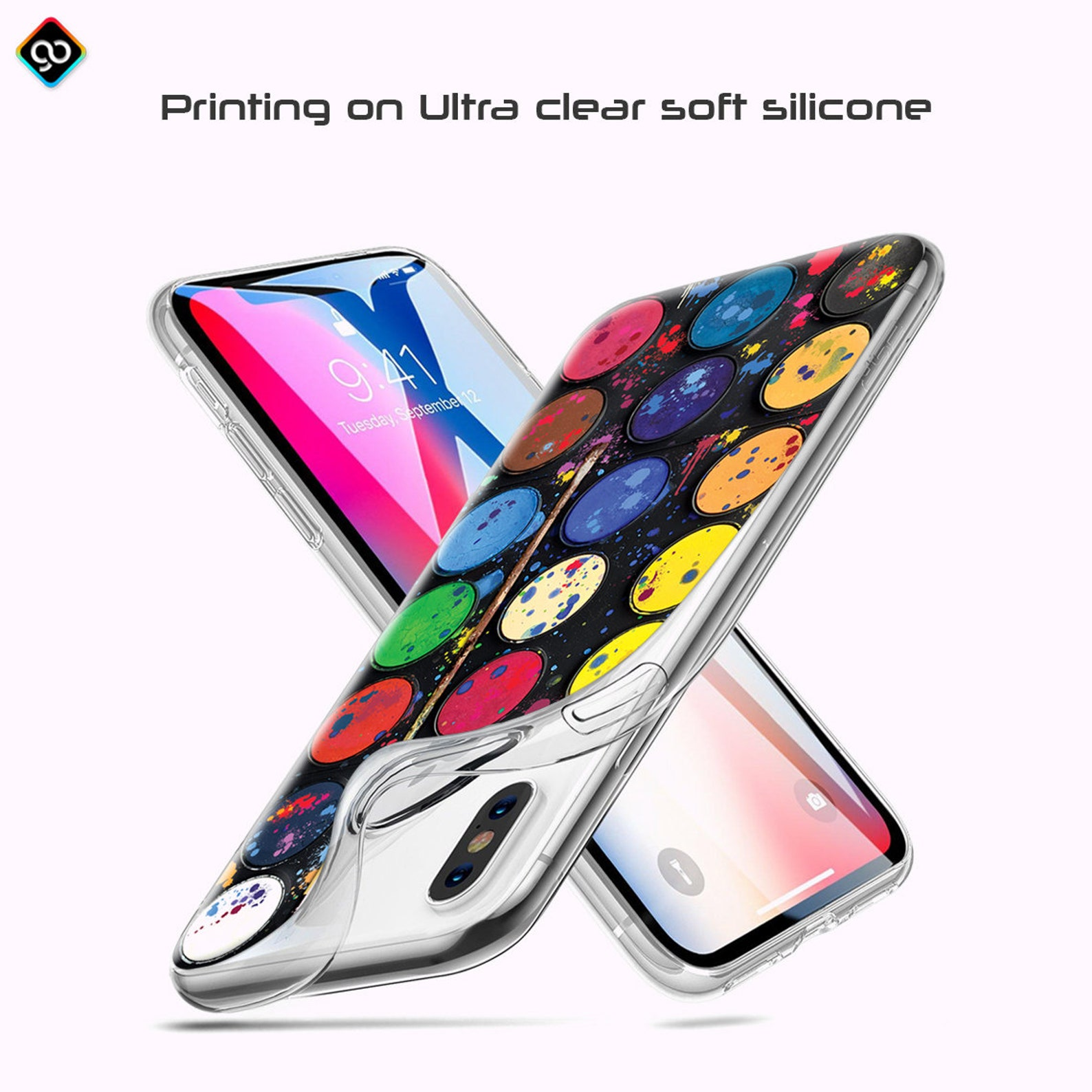 Shockproof Bumper Transparent Clear Slim Rubber Silicone