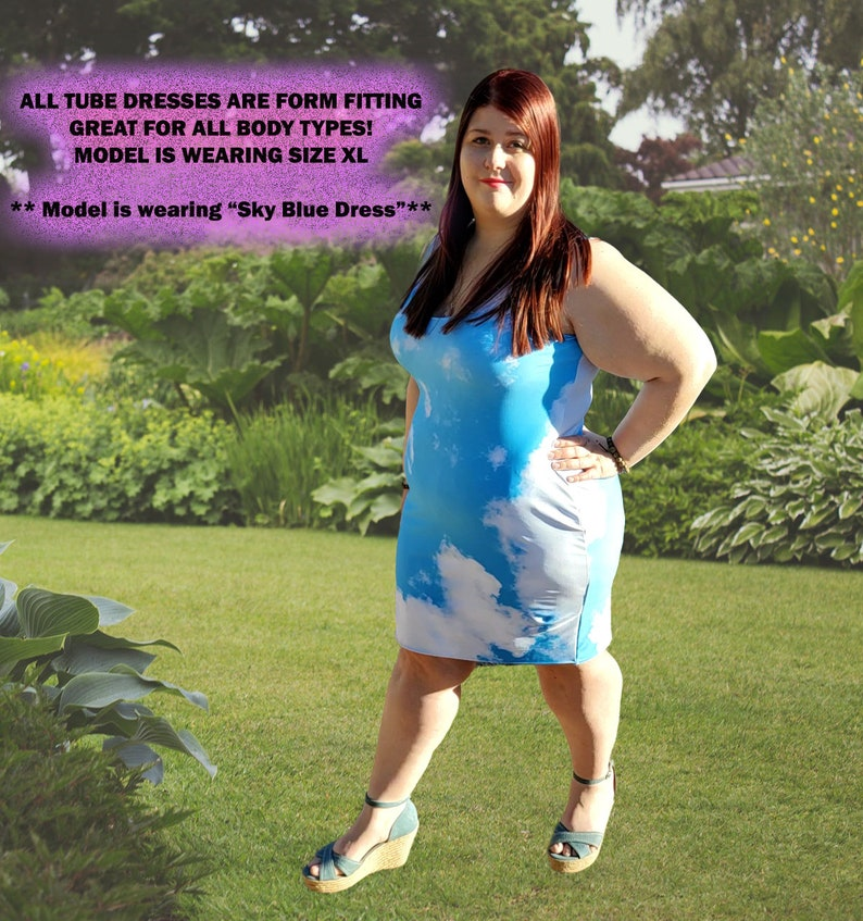 Pastel Purple and Black Spandex Fitted Dress