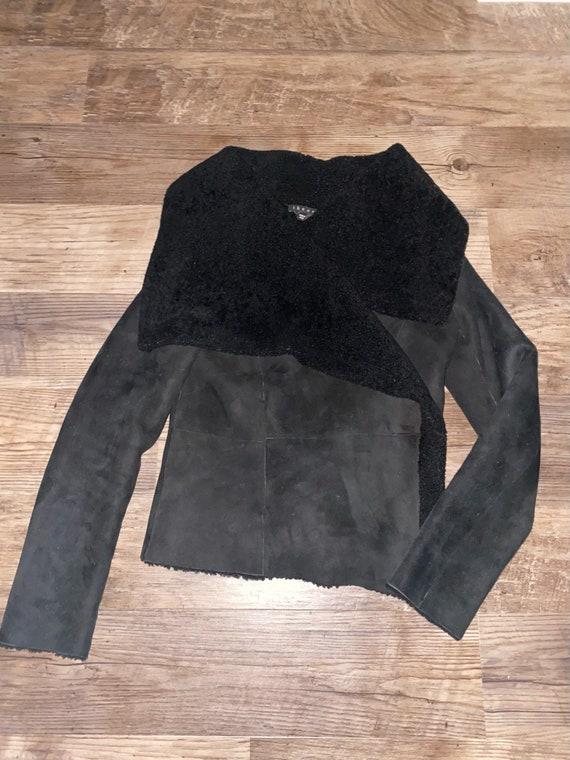 Theory Shearling Coat