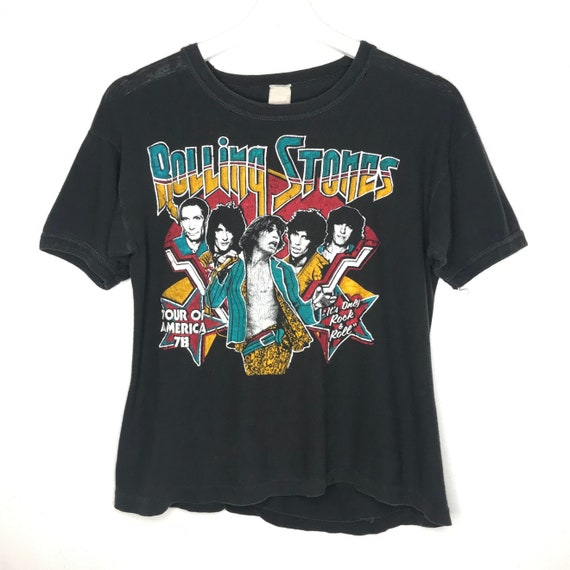 1978 Rolling Stones Tour Of America Tee Shirt