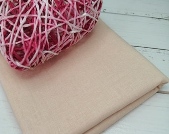 "Doll skin fabric, Cotton 19.6 ""x20"""
