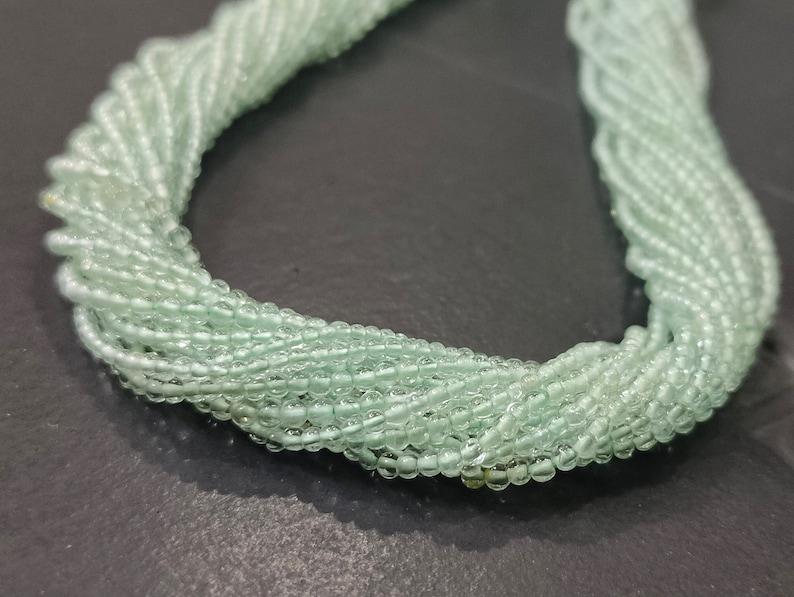 Natural Aquamarine Plain Round beads Plain Aquamarine beads Aquamarine Beads|