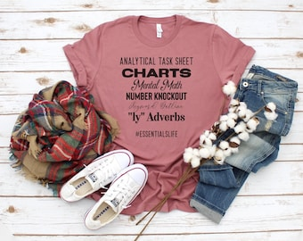 Classical Conversations Essentials shirt, Homeschool shirt, Grammar shirt, English shirt, Tutor shirt
