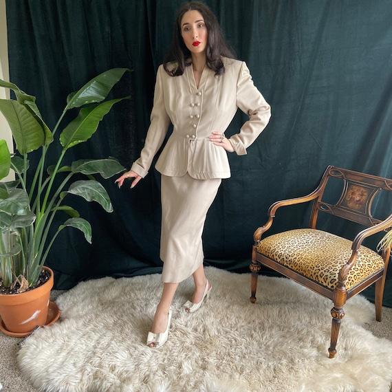 1950's Lilli Ann Skirt Suit