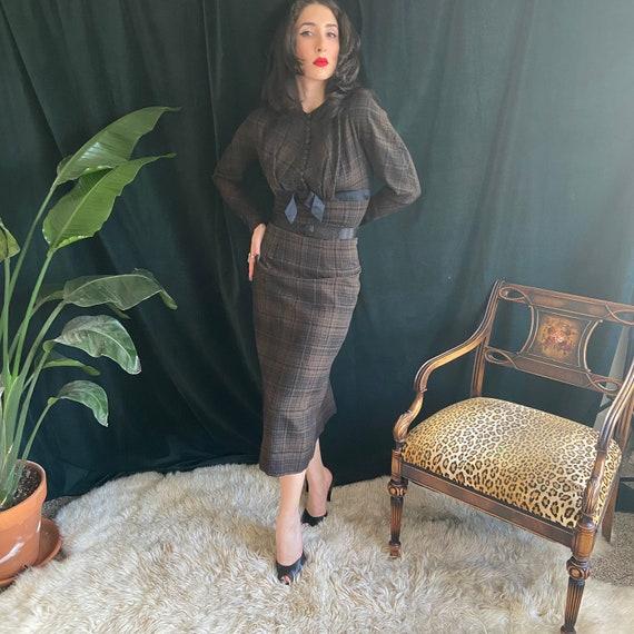 1950's Pinup Secretary Dress