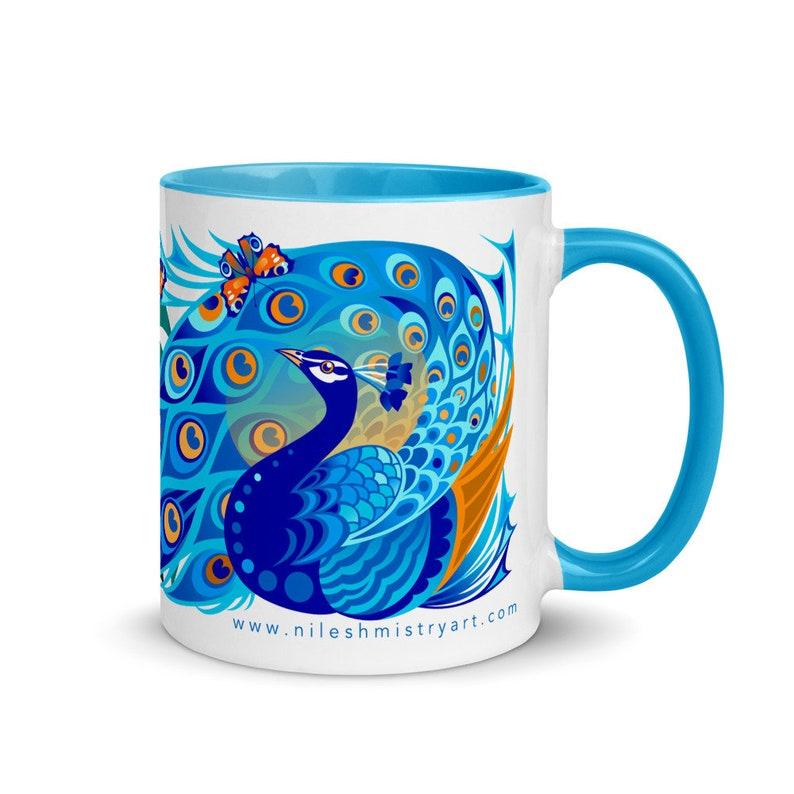 Mistry Mugs  Peacocks image 0