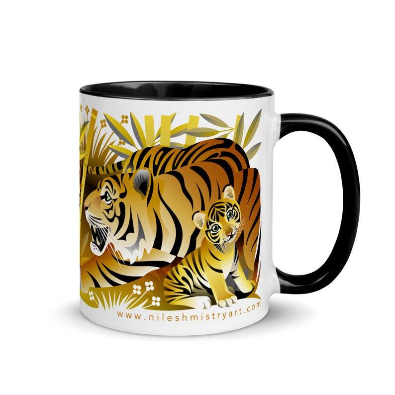 Mistry Mugs  Tiger image 0