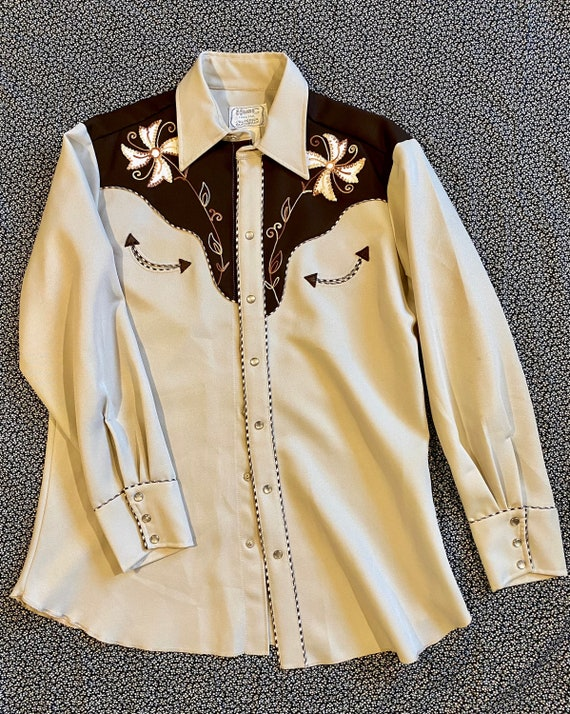 H Bar C Western Shirt (Vintage '70s)