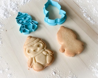 Cookie cutter and stamp multi-size: Penguin *188