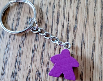 Gamer Present Board Gamer Gift Geeky Gift I Play Black Nerdy Accessories Other Colours Available Black Pawn Keyring Keychain