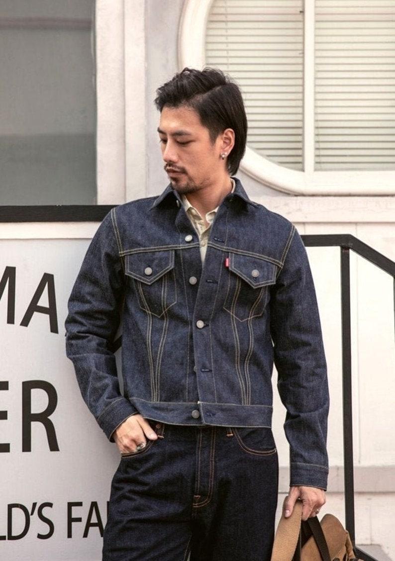 1940s Men's Outfit Inspiration | Costume Ideas MAYAvintageclothing / Bronson Type 3 jacket  AT vintagedancer.com