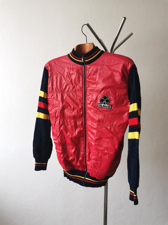 80's Colnago winter cycling jacket, L