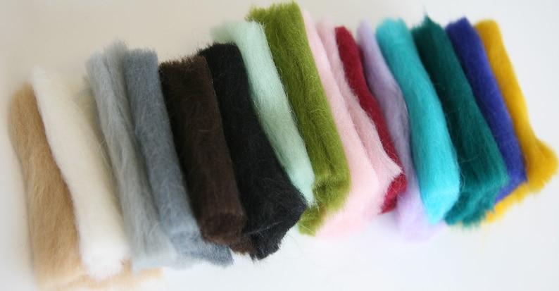Sale For Felting Roving Natural Merino Wool 3.5oz Wool Roving Merino Wool 25-28mic