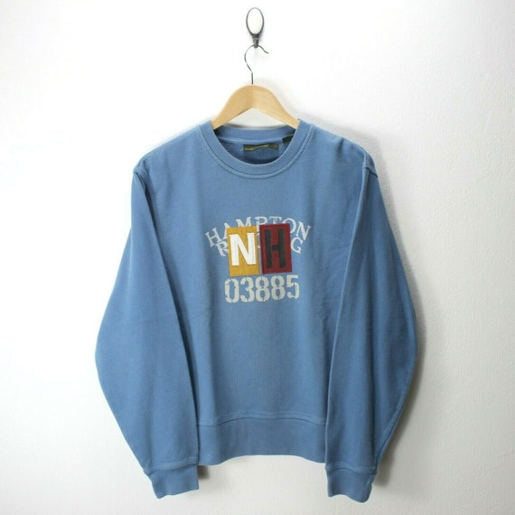 Vintage Timberland Men's Sweater in Blue Size S Sp