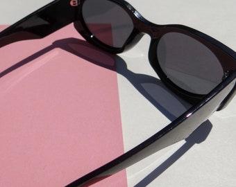 Boston Blogger Frames- Black Sunglasses - Loft the Label