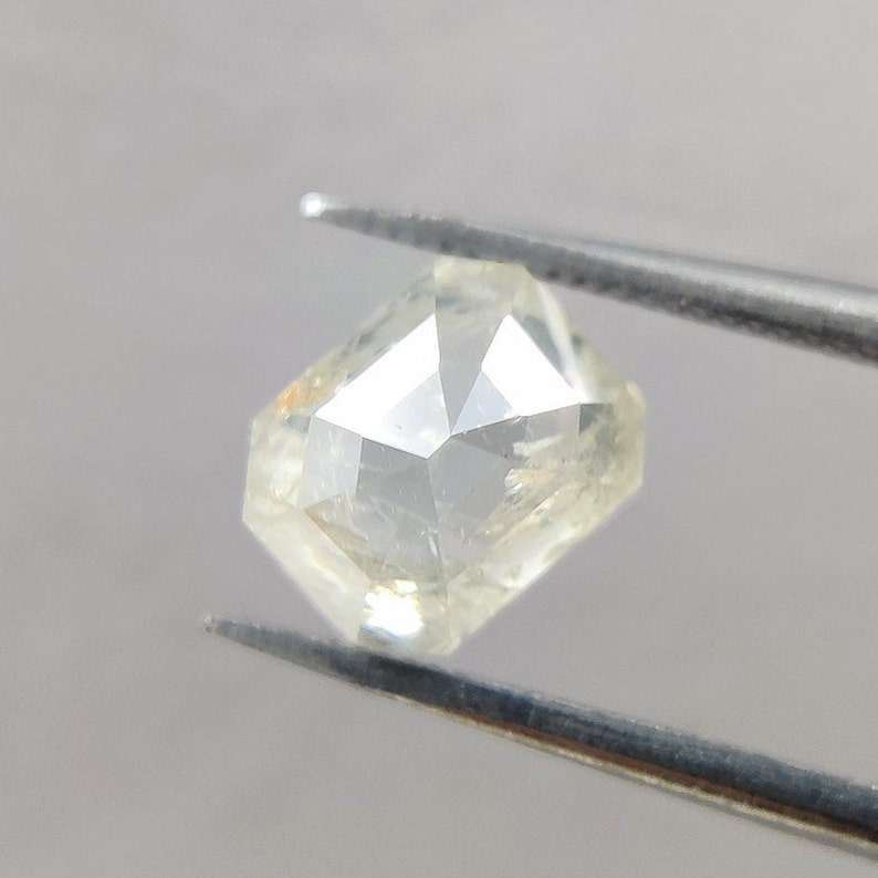 1.33 CT emerald fancy shape diamond  salt and pepper diamond  natural diamond