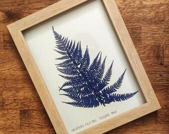 klein blue fern
