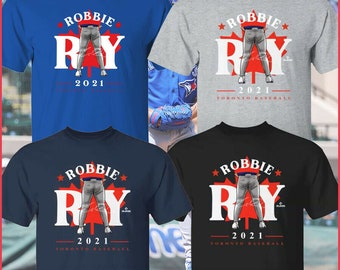 SALE!! Robbie Ray Toronto Blue Jays Tight Pants Leaf WHT 2021 New T-Shirt, Robbie Ray #38 T-Shirt, Gift For Sport Fan Man Woman 100% Cotton
