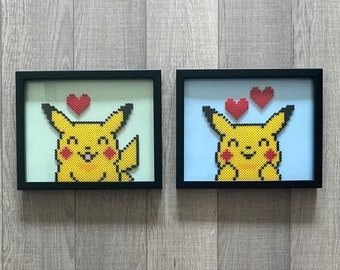 Pikachu! Handcrafted Framed Wall Art