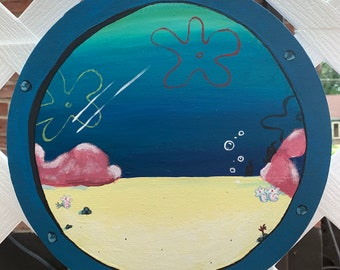 Custom Spongebob window