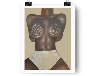 My Body, My Temple diptych 2 print