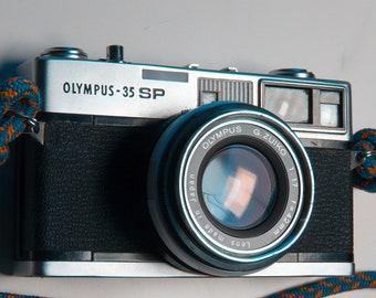 Olympus 35 SP 35 mm rangefinder camera + Camera Strap Very good condition, Poor mans Leica