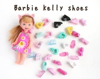 NEW barbie kelly doll shoes mini barbie sister doll shoes barbie shoes kelly doll scandals barbie sneakers barbie sister Kelly doll