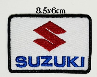 Suzuki  NEW EMBROIDERY SEW//IRON ON Patch