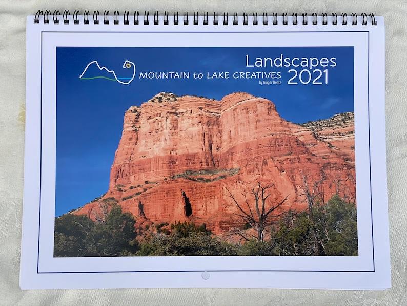2021 Wall Calendar  Landscape Photographs of the Southwest image 1