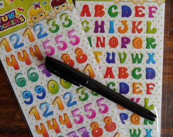 Simple Stories Summer Paradise Heidi Swapp numbers stickers Sea alphabet Hampton Art lol AC Hey Mom American Crafts